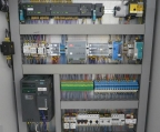 Connection of the control cabinet.