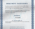 Wonir - patent 213253